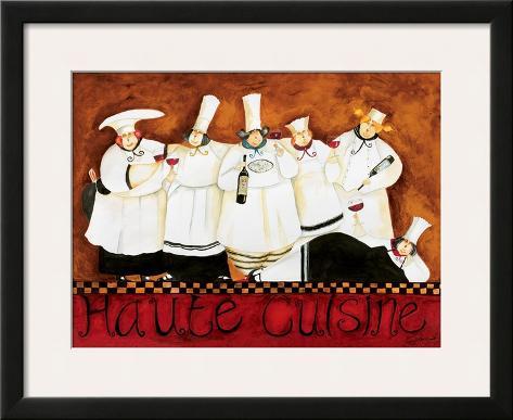 Haute Cuisine Framed Art Print