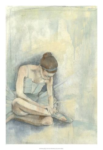Ballerina Repose I Premium Giclee Print