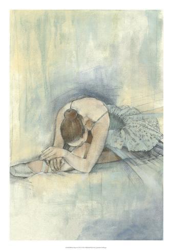 Ballerina Repose II Premium Giclee Print