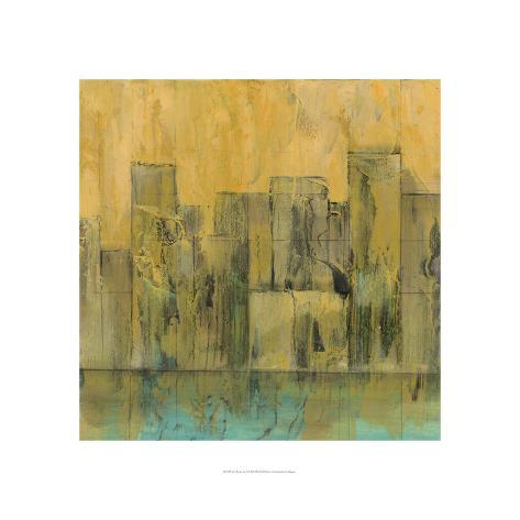 City by the Sea II Premium Giclee Print