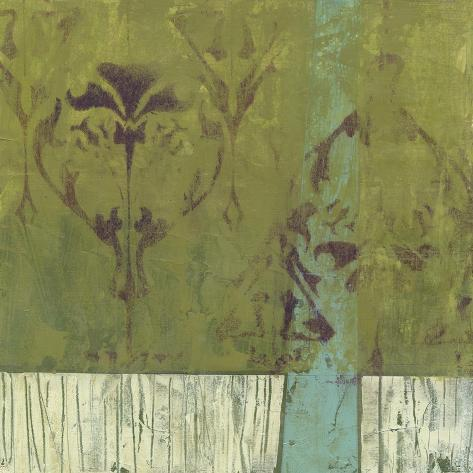 Distressed Abstraction I Premium Giclee Print