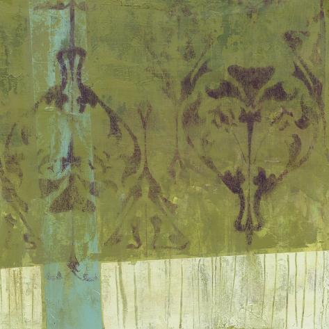 Distressed Abstraction II Premium Giclee Print