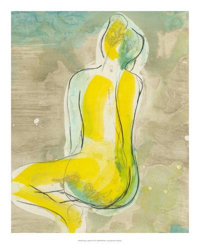 Figure in Relief II Premium Giclee Print