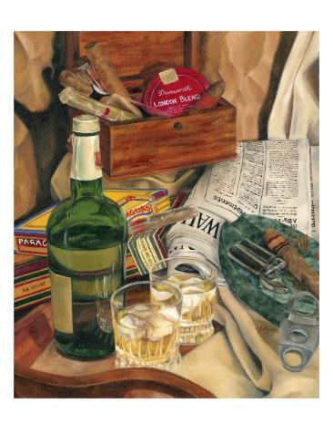 Jennifer's Scotch Indulgences II Art Print