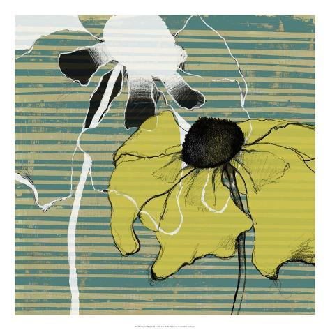 Layered Poppies II Giclee Print