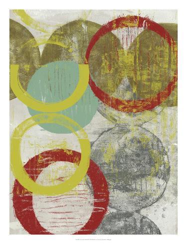 Layers & Circles II Giclee Print