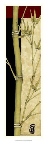 Meditative Bamboo Panel III Giclee Print