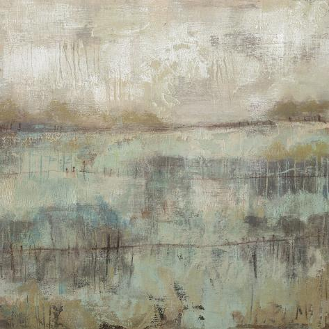 Pastels and Rust II Premium Giclee Print