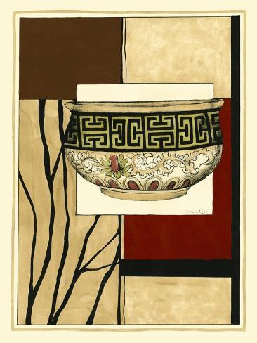 Printed Porcelain Garden IV Stampa artistica