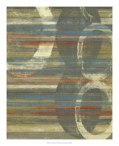 Textured Orbs I Art Print