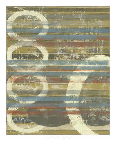 Textured Orbs II Art Print