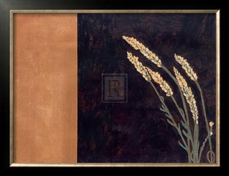 Golden Beauty I Framed Art Print