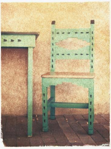 Santa Fe Chair Photographic Print