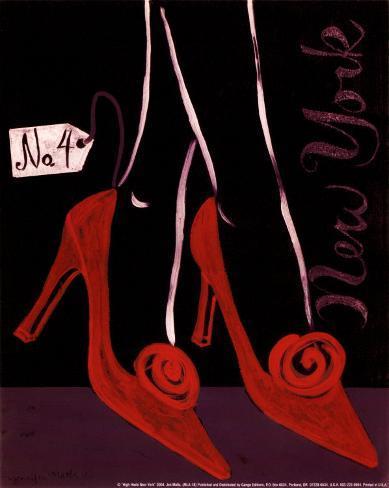 High Heels New York Art Print