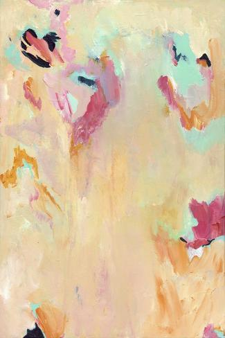 Tangerine Mist - Abstract Giclee Print