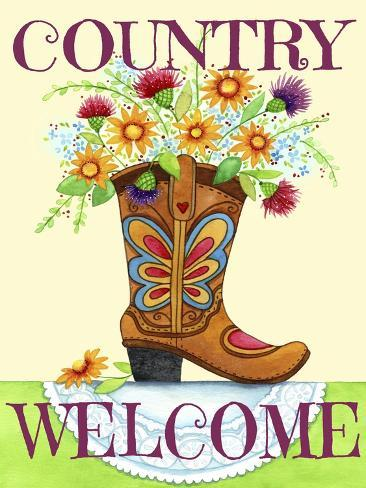 Country Welcome Giclee Print