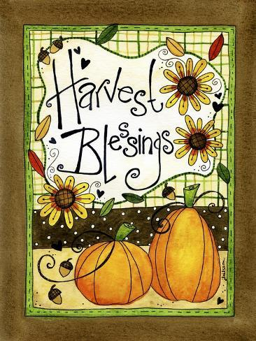 Harvest Blessings Giclee Print