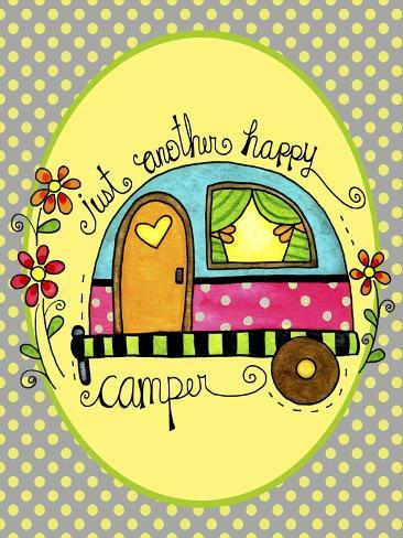 Just Another Happy Camper Giclee Print
