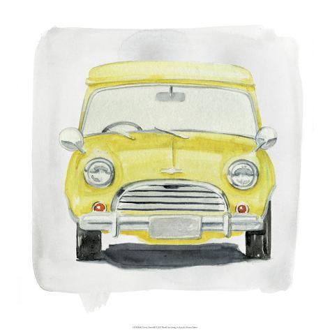 Classic Autos II Art Print