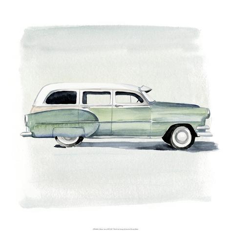 Classic Autos III Art Print
