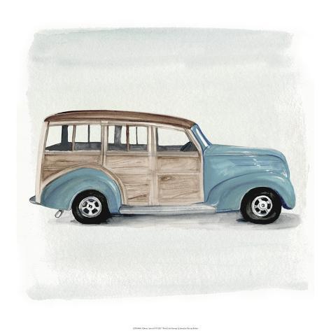 Classic Autos IV Art Print