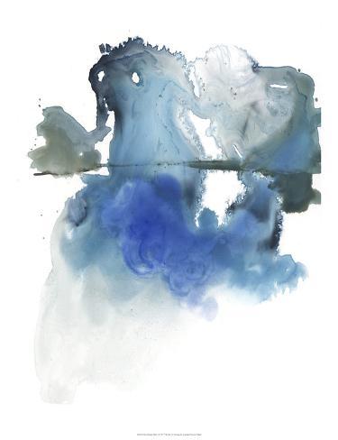 Glacier Melt I Art Print
