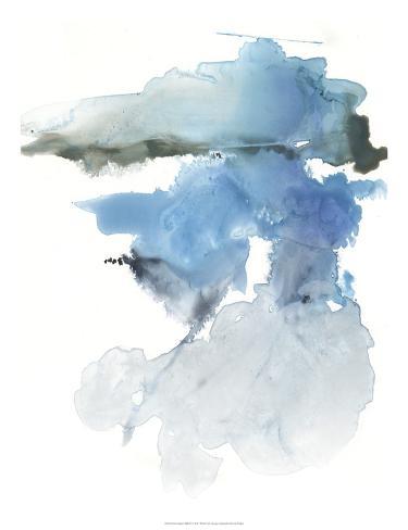 Glacier Melt II Art Print