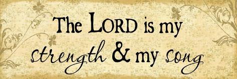 Lord Is My Strength Lámina