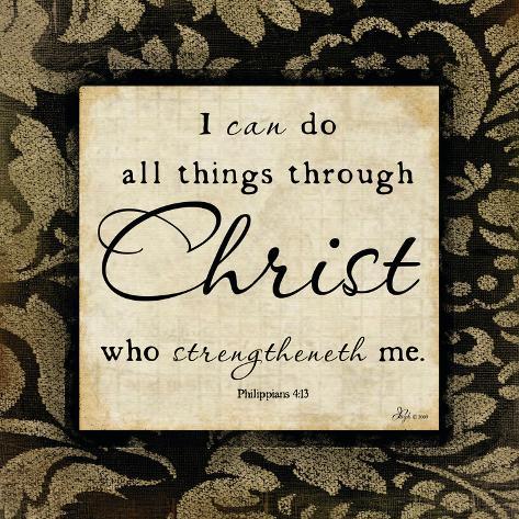 Through Christ Lámina