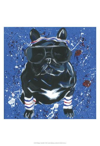 Dapper Animal III Art Print