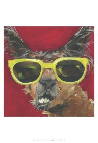 Dapper Animal IV Art Print