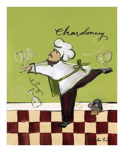 Wine Chef Chardonnay Konstprint