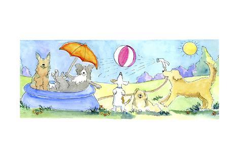Dog's Life Giclee Print