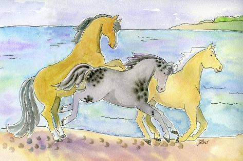 If Wishes Were Horses Giclee Print