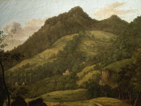 Martinique, West Indies, Late 18th Century Giclee Print