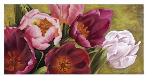 My Tulips Art Print