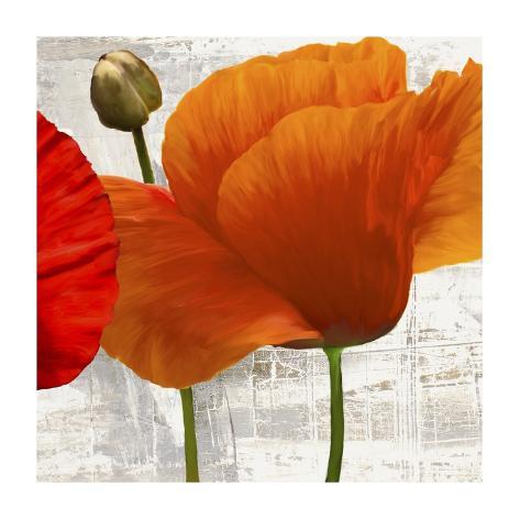 Summer Poppies II Art Print