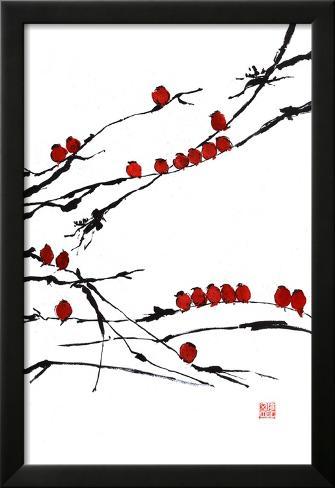 Bamboo Chorus Framed Art Print
