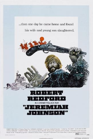 Jeremiah Johnson, Robert Redford, 1972 Art Print
