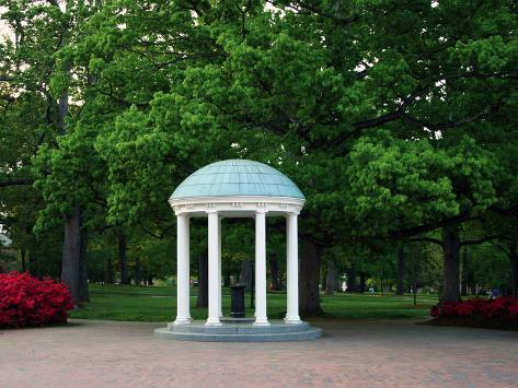 University of North Carolina - The Old Well Stands Alone Photo