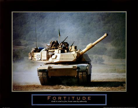 Fortitude: Tank on the Move Art Print