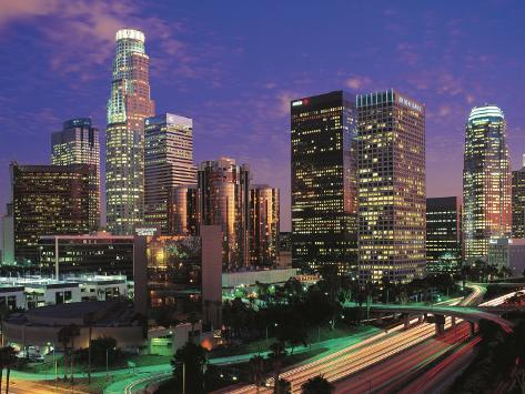 los angeles california photographic print by jerry driendl at
