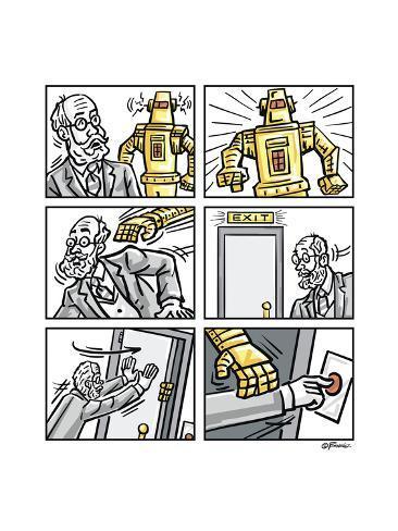 The Robot Giclee Print