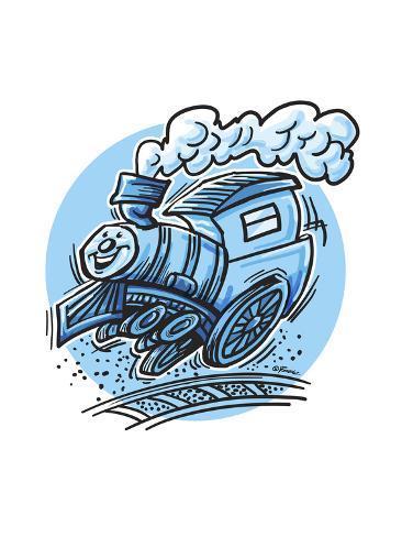 The Train Giclee Print