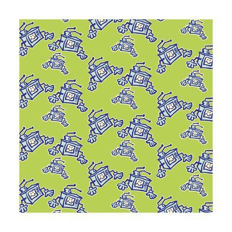 TV Pattern Giclee Print