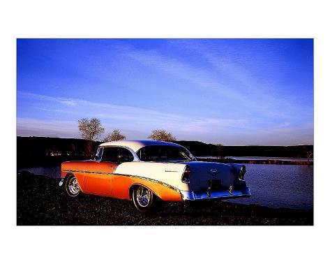 1956 Chevy Bel Air Giclee Print