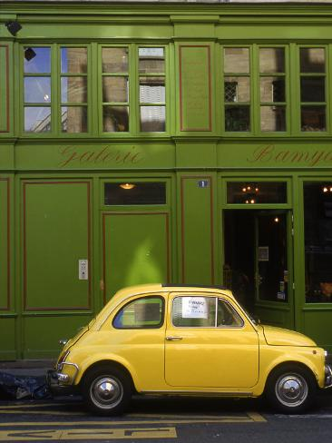 Car for Sale, Paris, France Photographic Print
