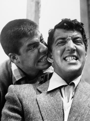 Jerry Lewis, Dean Martin Photographic Print