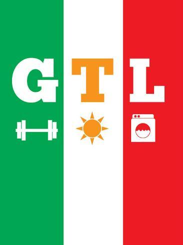 Jersey Shore GTL (Gym, Tan, Laundry) Posters - at AllPosters.com.au