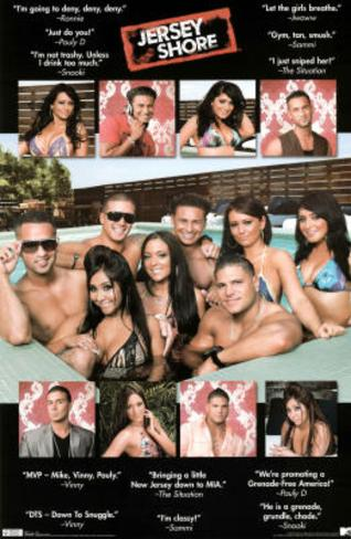 Jersey Shore Quotes TV Poster Print Poster
